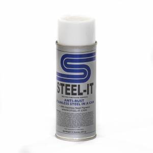 Steel-It - Steel-It Polyurethane Aerosol Spray 14 oz Can FGPA1012B Black