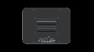 Miller Motorsports - JK License Plate Relocation Panel w/ MM Logo, MM-JK-LPRP