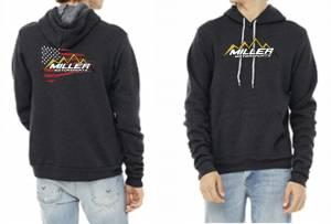 Apparel - Miller Motorsports - Miller Motorsports America Hoodie