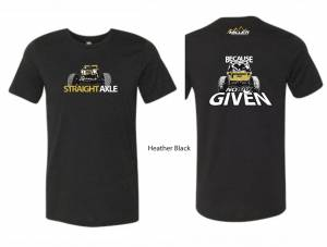 Apparel - Miller Motorsports - Straight Axle /No Fox Given Shirt Black Heather