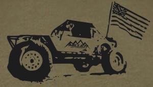 Miller Motorsports - Miller Motorsports Freedom Shirt, Olive Drab S-2XL - Image 2
