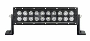 "Accessories - Lighting - KC HiLiTES - KC HiLiTES 10"" C Series C10 LED Light Bar Combo Beam - KC #334 (Spot/Spread Beam) 334"