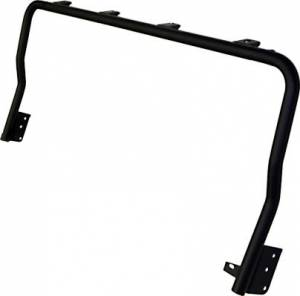 Accessories - Lighting - KC HiLiTES - KC HiLiTES 4-Tab Overhead Light Bar for Jeep Wrangler TJ (1997-2006) - Black - KC #7416 7416