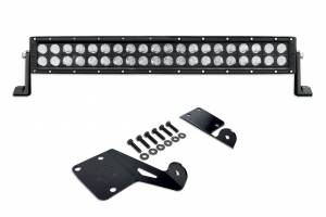 "Accessories - Lighting - KC HiLiTES - KC HiLiTES 20"" C20 C-SERIES LED Hood Mount System for 1997-2006 Jeep TJ Wrangler - #365 365"