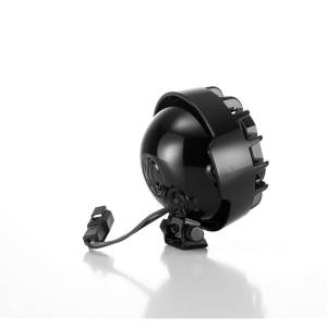 "Accessories - Lighting - KC HiLiTES - KC HiLiTES 4"" Rally 400 Halogen Single Light - Black - KC #1490 (Spread Beam) 1490"