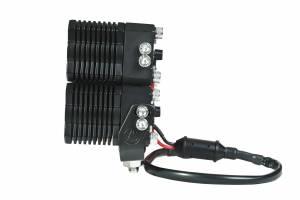 KC HiLiTES - KC HiLiTES KC FLEX Quad LED Combo Beam System (pr) 280